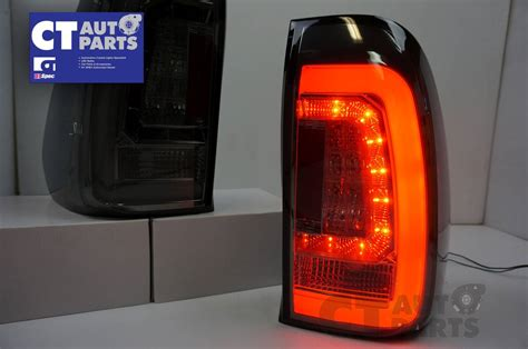Smoked Led Light Bar Smoked Led 3d Light Bar Lights For Toyota Hilux Sr5 Vigo 15 16 Taillight Ebay