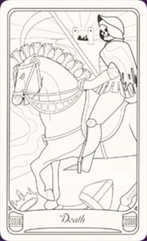 printable tarot cards to color color your own tarot