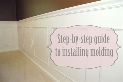 dining room molding step by step guide to installing molding living rich on
