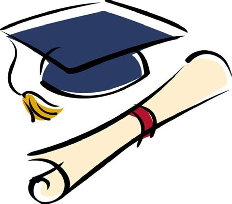 diploma clipart graduation cap and diploma clipart picture graphics