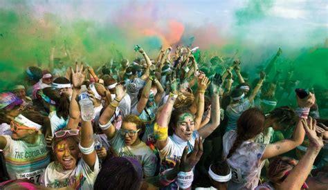 the color run winston salem winston on the run winston salem monthly journalnow