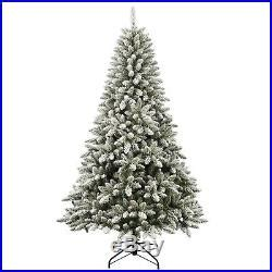menards colorado flocked pine 7 colorado flocked pine tree 600 clear lights decoration