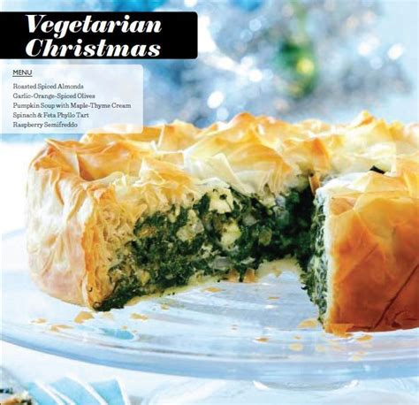 a vegetarian christmas dinner menu chatelaine