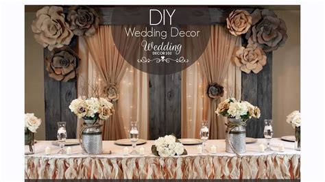 wedding decor 101 sign up for a week of free diy