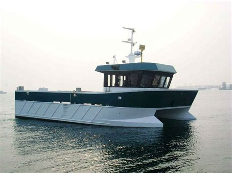 catamaran workboat aluminium work boat catamaran buy aluminium work boat