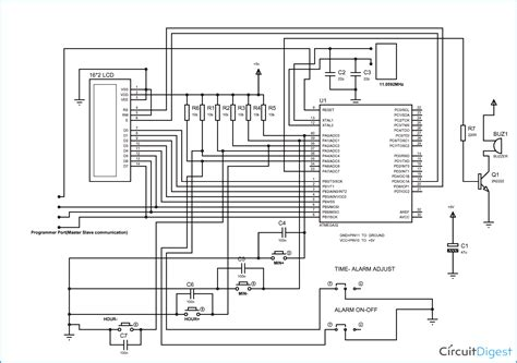 digital alarm clock using avr microcontroller atmega32