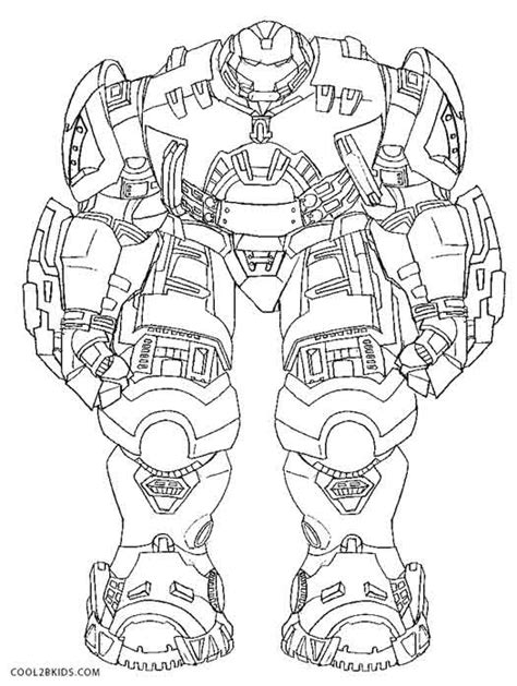 Avengers Hulkbuster Coloring Pages | free printable hulk coloring pages for kids cool2bkids