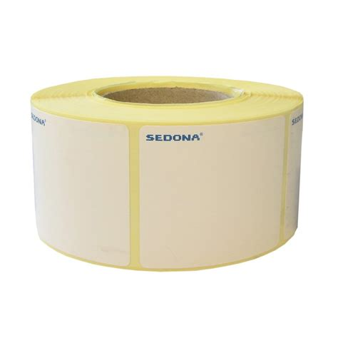40 x 46 mm label rolls direct thermal 600 labels roll
