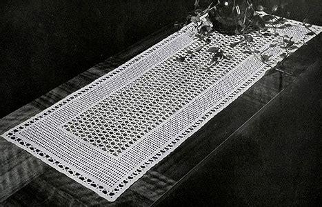 Filet Crochet Patterns For Home Decor 32 free crochet table runner patterns guide patterns