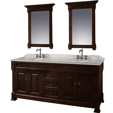 bathromm vanities 72 quot andover 72 cherry bathroom vanity bathroom