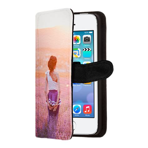 Quotes Iphone 5 5s 5se iphone 5 hoesje met foto wallet