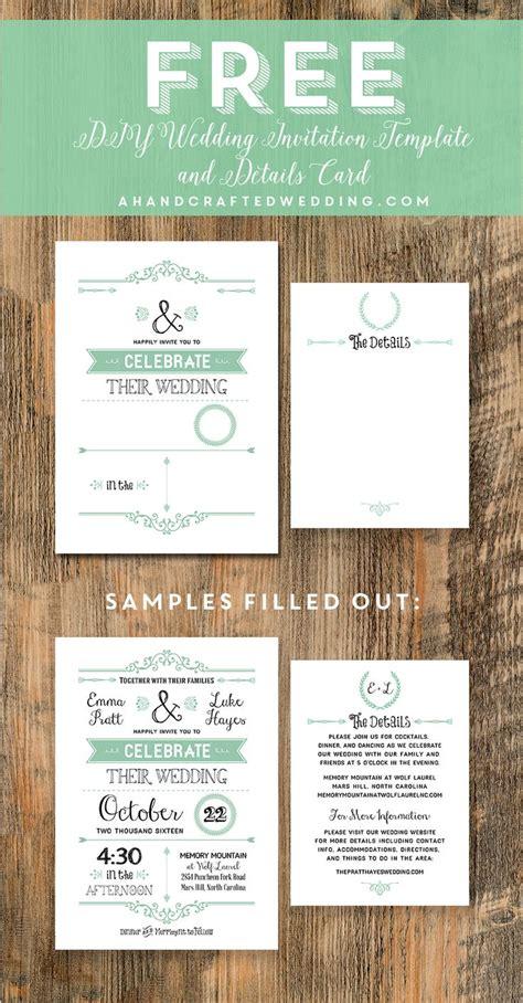 free wedding invitation template free wedding invitation templates free wedding invitations - Wedding Invitation Template Exles