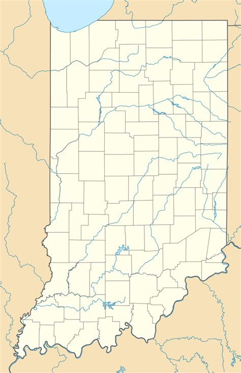 map usa indiana millville indiana