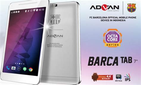 Tablet Advan Barcelona advan barca tab pro 7 quot tablet berprosesor octa untuk fans barcelona gadgetren