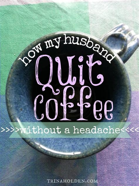 Coffee While Detoxing by How My Husband Quit Coffee Without A Single Headache