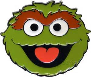oscar grouch face template oscars