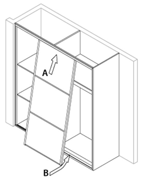 How To Fit Sliding Wardrobe Doors by Installation Guide Sliding Wardrobe Doors