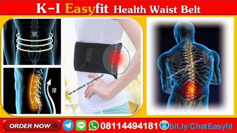 Terapi Syaraf Kejepit Di Pinggang Easyfit Waist Belt 1 wa 08114494181 renang terapi tulang belakang easyfit waist