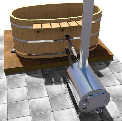 Japanese Bathtub Heater by Japanese Wood Ofuro Soaking Tub For 2 Wood Fired Heater