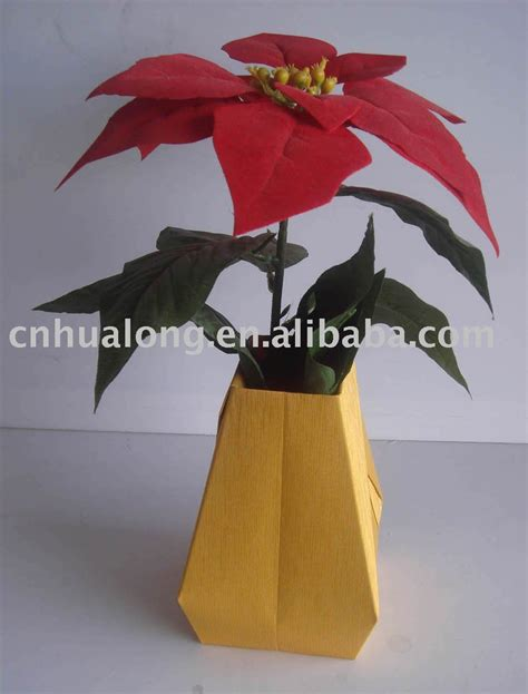 paper vase flower vase in vases from home garden on