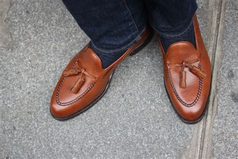 grained leather loafers by septieme largeur the shoe snob