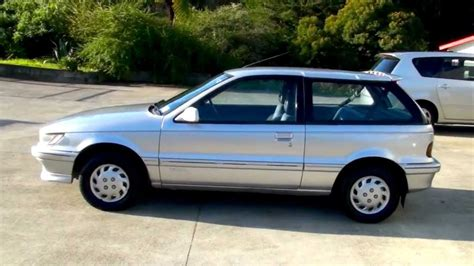 mitsubishi mirage 1990 mitsubishi mirage swift 1990 1 5l auto youtube