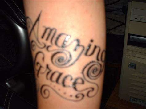 amazing grace tattoo amazing grace