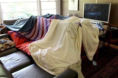 Living Room Fort Kit Fort Friday All For The Boys