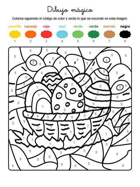 dibujos para pintar kinder imprimir dibujo m 225 gico de huevos adornados dibujo para