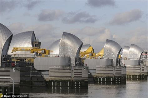 thames barrier closed images thames barrier has closed 29 times in past 10 weeks to