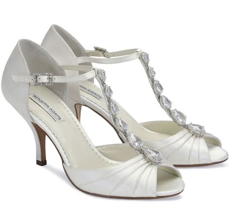 2 Inch Bridal Shoes benjamin wedding shoes the wedding boutique