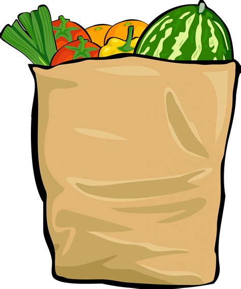 grocery bag clipart grocery bag clip www imgkid the image kid has it