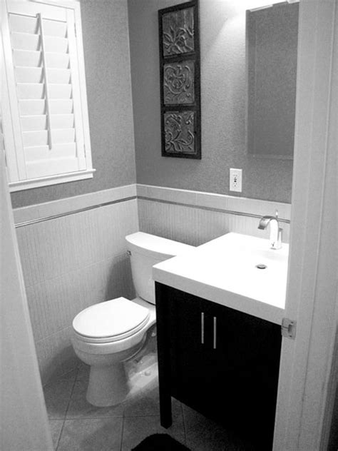 Black And White Small Bathroom Designs 2597 Small Black And White Bathrooms Ideas