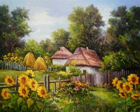 cuadros al oleo de paisajes cuadros modernos pinturas y dibujos paisajes al 243 leo de