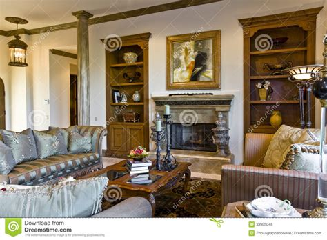 old fashioned living room living room interior royalty free stock image image