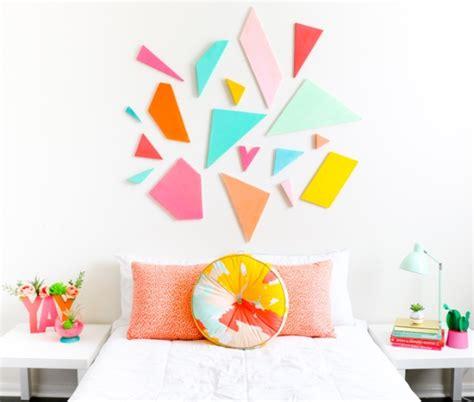 tete de lit en mousse deco forme geometrique plemle gomtrique sur with deco