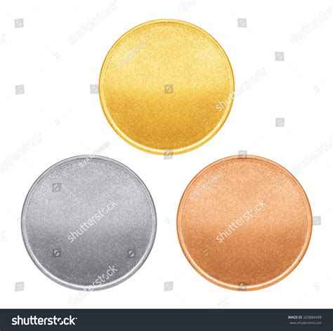 gold coin template blank templates for coins or medals with metal texture