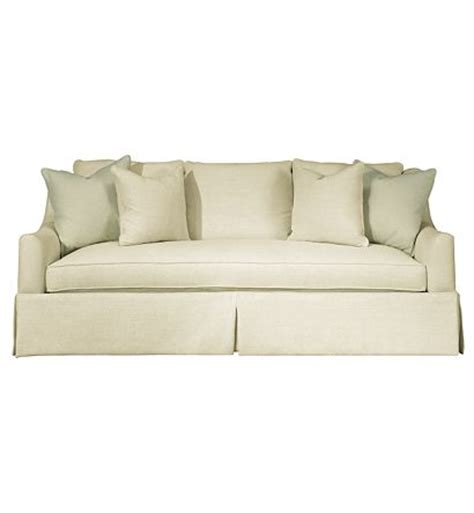 Hickory Chair Jules Sofa by Sutton Skirted Sofa From The Upholstery Collection By