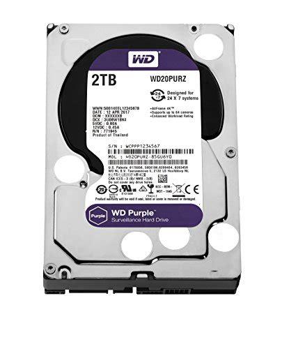 Hardisk Wd 2tb wd purple 2tb surveillance disk drive 5400 rpm