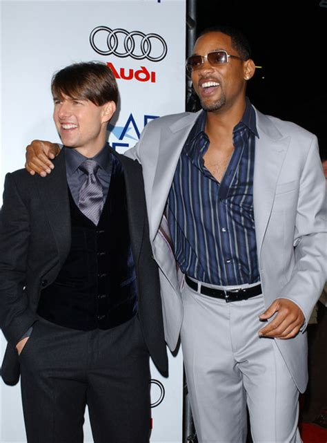 Tom Cruise Gives Will Smith An Award by Will Smith Tom Cruise Photos Photos Afi 2007