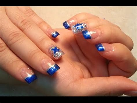 Dallas Cowboys Nail Designs