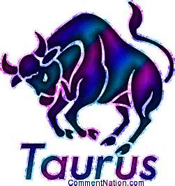 taurus glitter astrology sign pink purple image graphic
