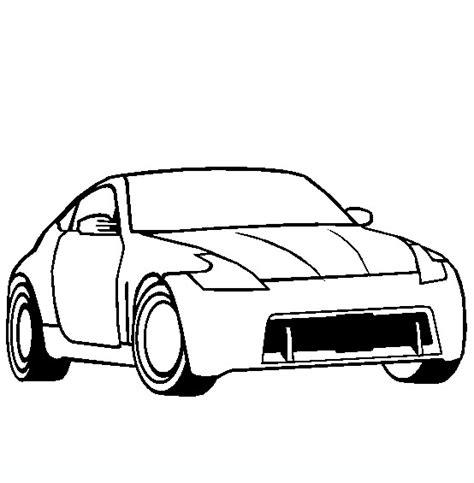 370z Coloring Page by Nissan 370z Disegni Da Colorare Di Mezzi Di Trasporto