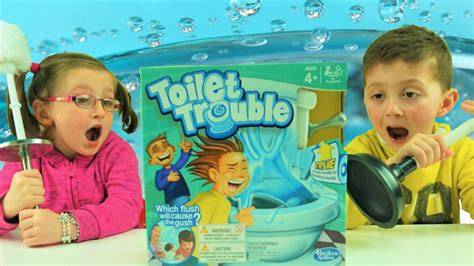 Toilet Trouble Challenge T0310 toilet trouble challenge with ace time