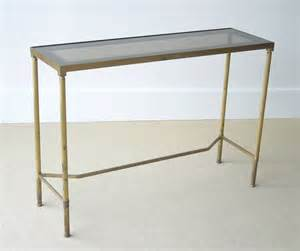 Narrow Console Table Narrow Brass Console Table At 1stdibs