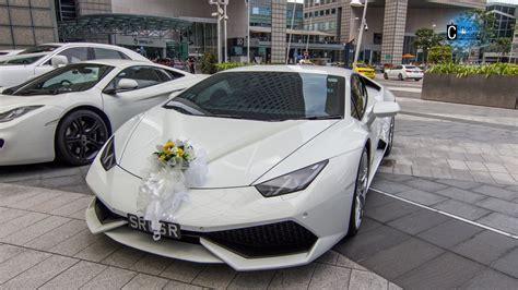 Wedding Car Lamborghini by Lamborghini Huracan Wedding Car Ride