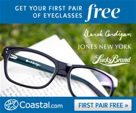 coastal contacts get a pair of prescription glasses for
