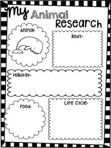 animal research for template research report animals and unit studies on