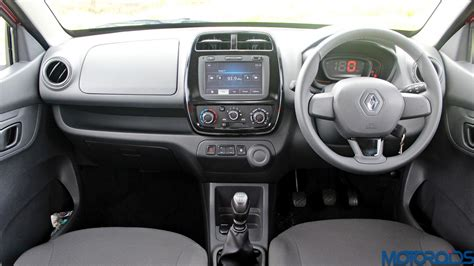 kwid renault interior renault kwid review small wonder motoroids