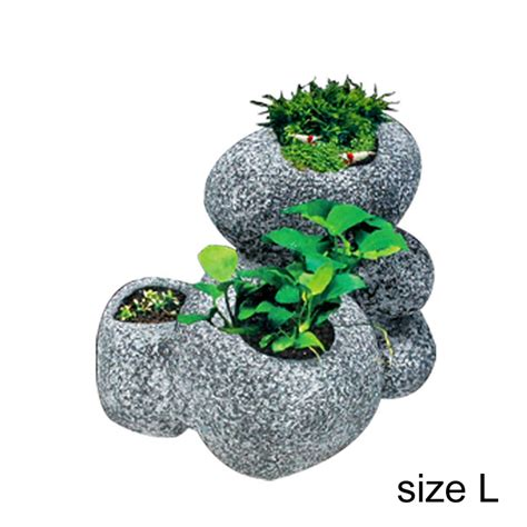 bloempot in aquarium marmer plant potten promotie winkel voor promoties marmer